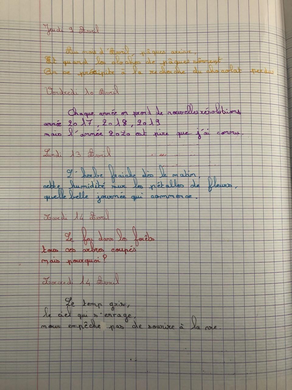 Haiku en 6ème - Collège Jean Vilar